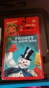 unopened Frosty Snowman Book with Cassette Tape