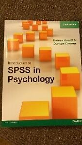 Introduction to SPSS in Psychology 6th Ed - Howitt & Cramer Ngunnawal Gungahlin Area Preview
