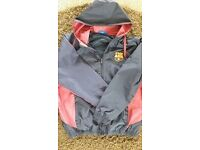 FC BARCELONA MEN'S JACKET SIZE XL