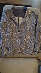 Tagliatore Unconstructed Blue Jacket Size Made in Italy 50R