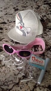 Hat & Sunglasses - Brand New with Tags