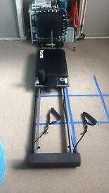 Aeropilates machine - pilates reformer and rebounder