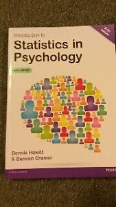 Introduction to Statistics in Psychology 6th Ed - Hewitt & Cramer Ngunnawal Gungahlin Area Preview