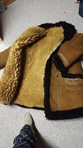 From Ukraine Sheep Skin / Wool Winter Coat