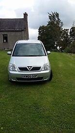 Vauxhall Meriva Breeze for sale