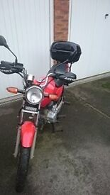 Honda CG 125 : Good Condition, Ideal for first bike.