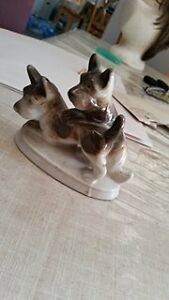 Ceramic Dog Figure for Sale