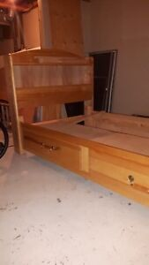 Solid Birch Captains Beds