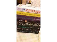 Various books, price in desc