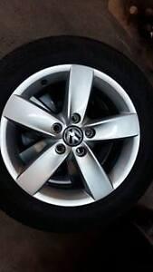 Mags Volkswagen golf 2011 avec pneus