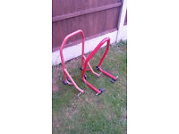 paddock / bike stands