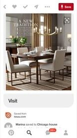 Dinning Table featured in Elle Decor Magazine