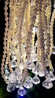 Pearl and crystal garlands  $70