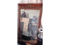 Vintage Fireplace French Mirror