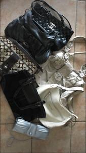 Handbags assorted brands