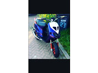 Piaggio Zip mk 1 183cc Reg as 50 cc, Race Tuned, Very rare + Fast bike!!