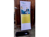 Pop Up Advertising Sign - Roller Banner Display Stand - Exhibition Trade Show