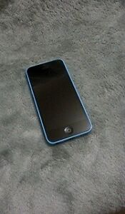 Blue iPhone 5C 16GB with Otterbox Case (Unlocked) Trade for 5-5s