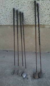 Archie Compston Antique Golf Clubs