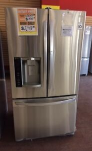 CLEARANCE LG french door fridge at Sears in Brandon - REVISED