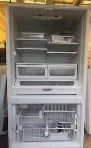 Fridge Kenmore Elite French Door Bottom Freezer