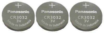 3 NEW BATTERIES PANASONIC CR3032  3v Lithium Battery FRESH