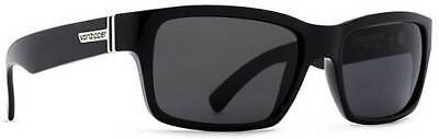 Von Zipper Fulton Sunglasses - Black Gloss / Grey - New