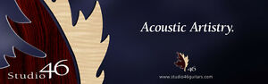 Add a Pickup to your Acoustic Guitar  (Studio 46 Guitars Inc.)