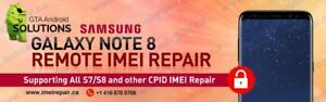 NETWORK REPAIR Unregistered SIM S8, S8+, S7, S7 Edge, S6, S6 edge, S5, Note 5, Edge plus, Note 4, S4, Note 3, Neo, Alpha