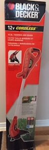 Taille bordure neuf Black and Decker