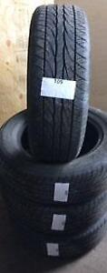 PNEUS ÉTÉ USAGÉS / USED SUMMER TIRES 195/65R15 19565R15 89H DUNLOP SP SPORT 5000