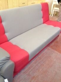 Sofa bed with storage- very good quality- delivery available- attractive price!