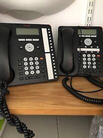 2 Avaya Desk Telephones