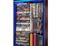 100+ DVD's & Bluerays