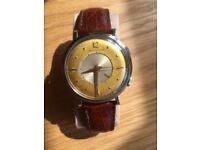 Jaeger LeCoultre Memovox Vintage 1960s Alarm Watch in original condition