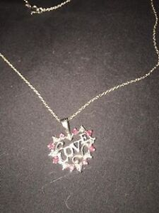 Sterling silver 925 Italian with pendant