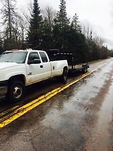 Duramax and trailer forsale