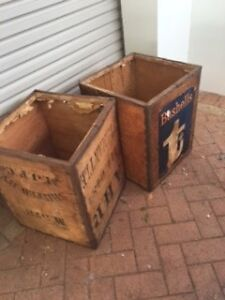Vintage Tea Chest x 2 Halls Head Mandurah Area Preview