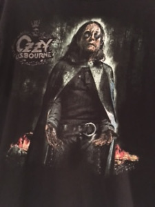 OZZY OSBOURNE CONCERT SHIRTS-REDUCED PRICE!