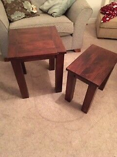 Nesting side tables from Next
