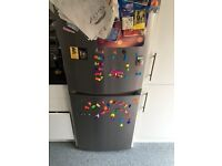 Less than year old Zanussi Fridge Freezer - selling due to moving must collect £50 for quick sale