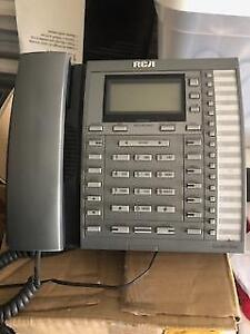 4 RCA MULTI-LINE OFFICE PHONES
