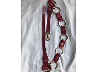 D&G red belt