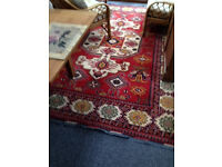 Turkish Rug Hand Knotted Wool on Wool