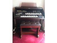 Technics SX EA3/5 Organ with stool and user manual. Very good condition