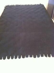 1 Large Black Wool Blanket with Fringe Matraville Eastern Suburbs Preview