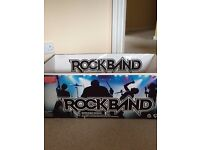 Nintendo Wii Rockband in original box in very good condition with additional game