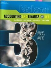 Accounting and Finance for WA | 3AB YEAR 12 TXT BK Dalkeith Nedlands Area Preview