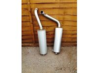 Ducati 916 exhausts, good condition, hardly used, Southbourne