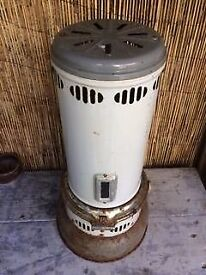 vintage paraffin heater, man cave, greenhouse